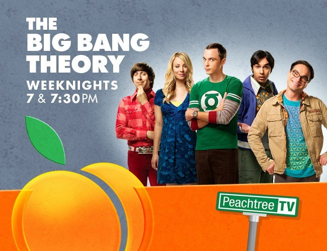 The Big Bang Theory on Peachtree TV