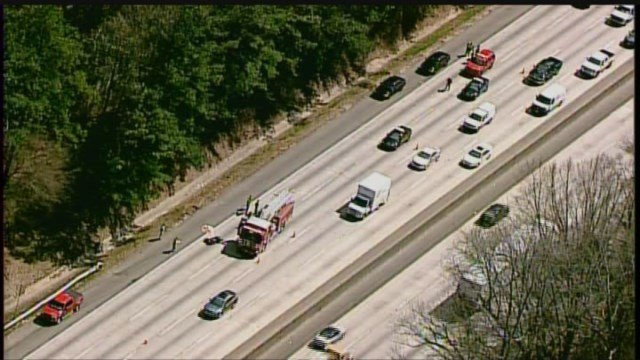 Motorcyclist dead after accident on I-285 in DeKalb County