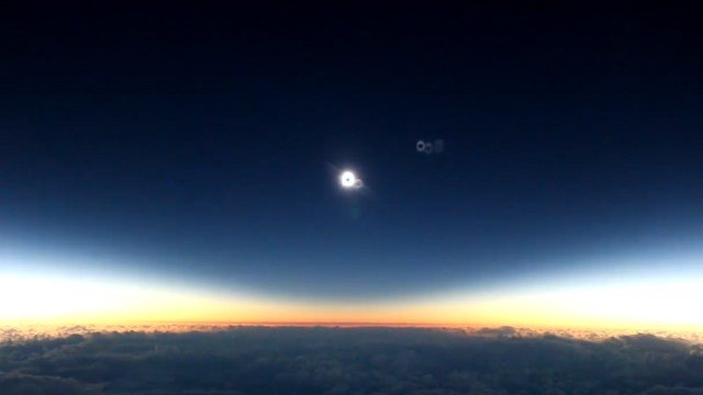Solar eclipse (Source: Mike Kentrianakis / American Astronomical Society)