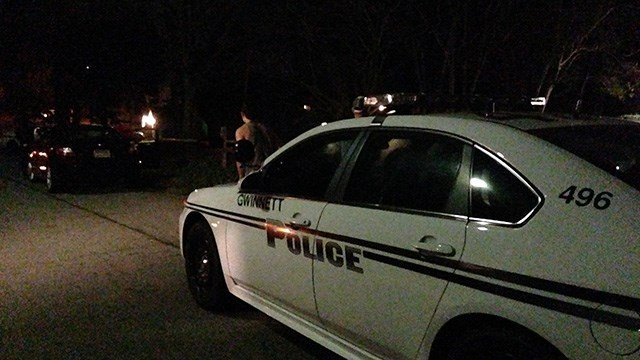Scene from where police say a child accidentally shot, killed himself. (Source: WGCL)
