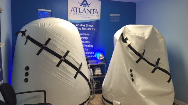 Athletes turning to hyperbaric oxygen treatment for long-term effects from concussions. (Source: WGCL)