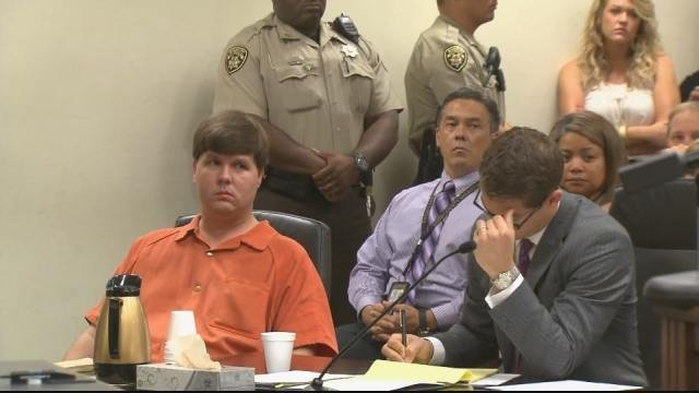 Justin Ross Harris in court. (Source: WGCL)