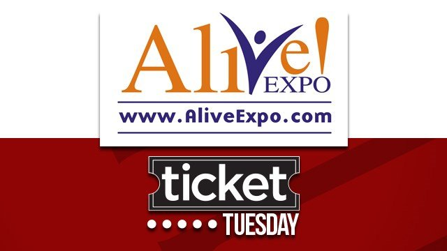 Alive Expo Ticket Tuesday Sweepstakes