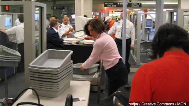 TSA checkpoint (Source: redjar / Creative Commons / MGN )