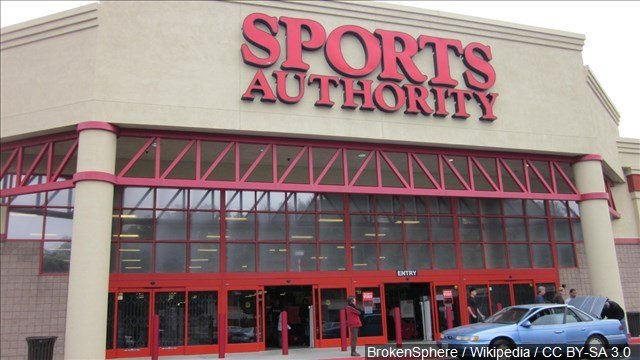 Sports Authority closing all its stores