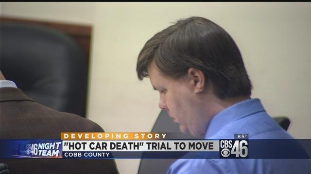 Judge grants motion to change venue in hot car death trial