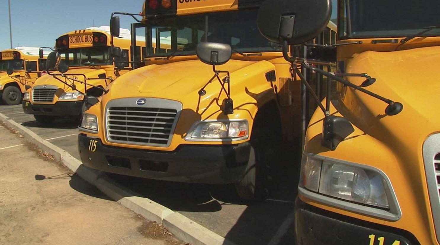 School buses (Source: WGCL)