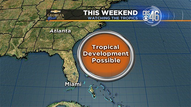 Atlantic Tropical Depression Forms, Storm Warning Issued For South Carolina Coast