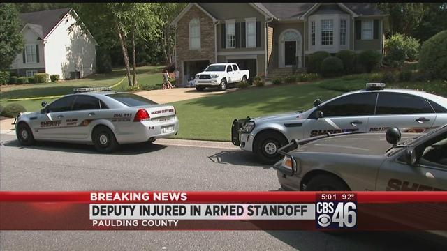 Deputy injured in Paulding County standoff