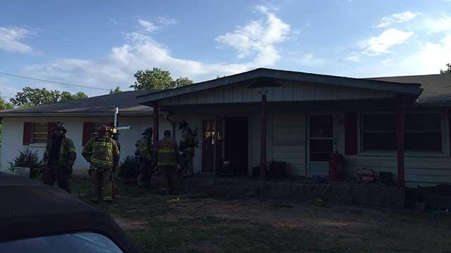 Hall County house fire