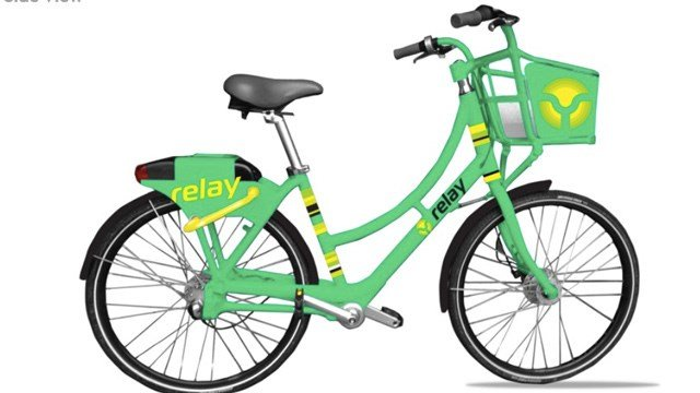 Atlanta Bike share program example bike (Source: Relay Bike Share)