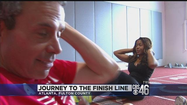 CBS46's Sharon Reed shares training journey for Peachtree Road Race