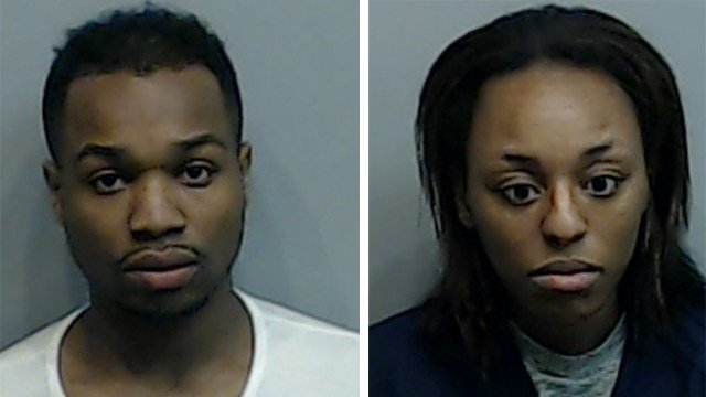Michael Wash and Lasherae Davis (Source: Fulton County Sheriff's Office)
