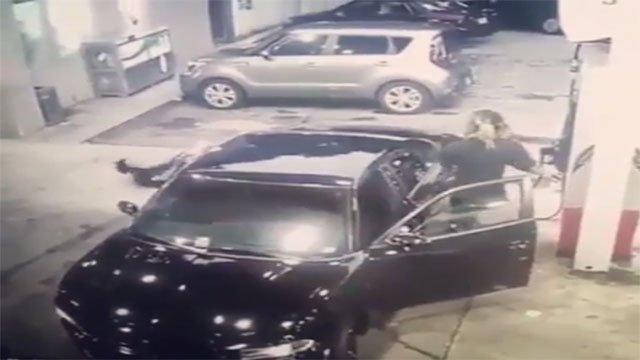 Video of gunfight at Atlanta gas station goes viral