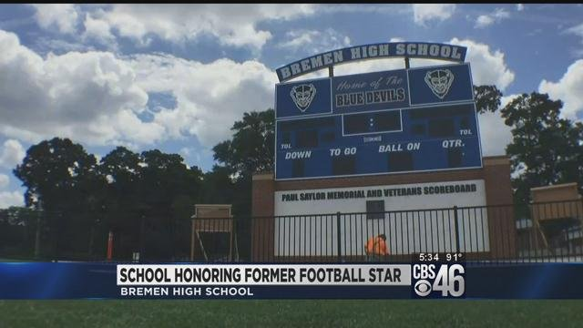 Local Football Player remembered