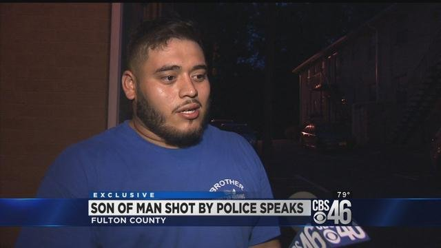 Son of man shot by Atlanta police officer speaks out