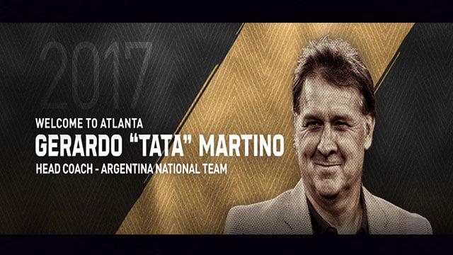 Former Barca boss Martino in charge at MLS newcomers Atlanta