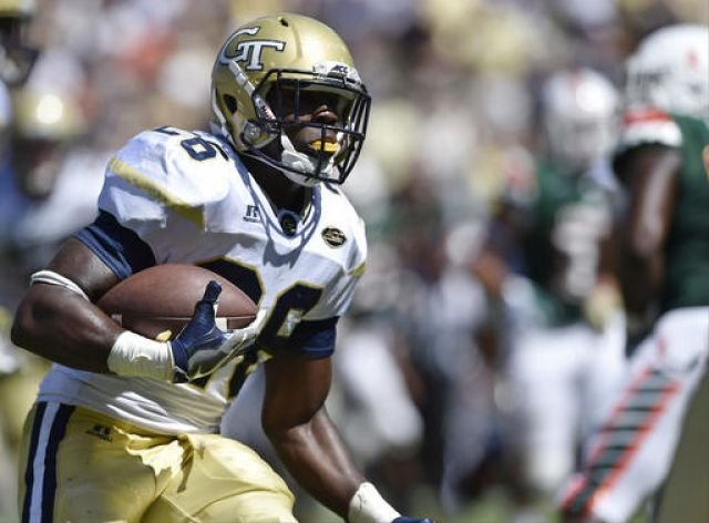 Georgia Tech suspends leading rusher Mills for 2 games