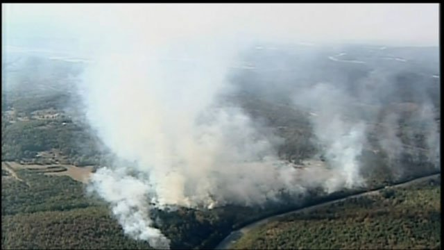 File photo of wildfire (Source: WGCL)