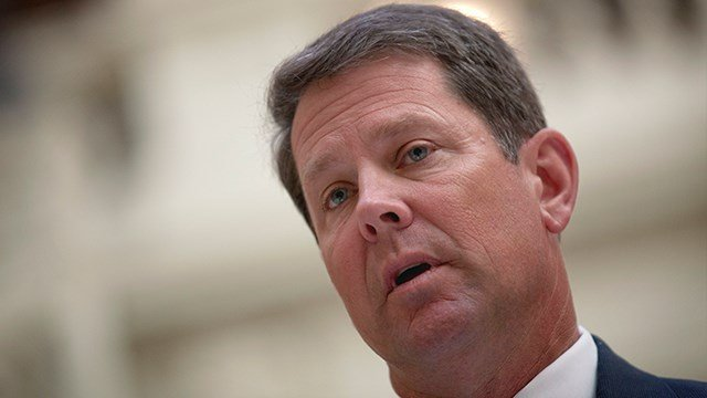 Secretary of State Brian Kemp.(AP Photo/David Goldman)