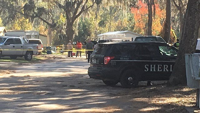 Scene where Deputy Marshal was shot, killed in Long County, GA. (SOURCE: Dal Cannady/WTOC)