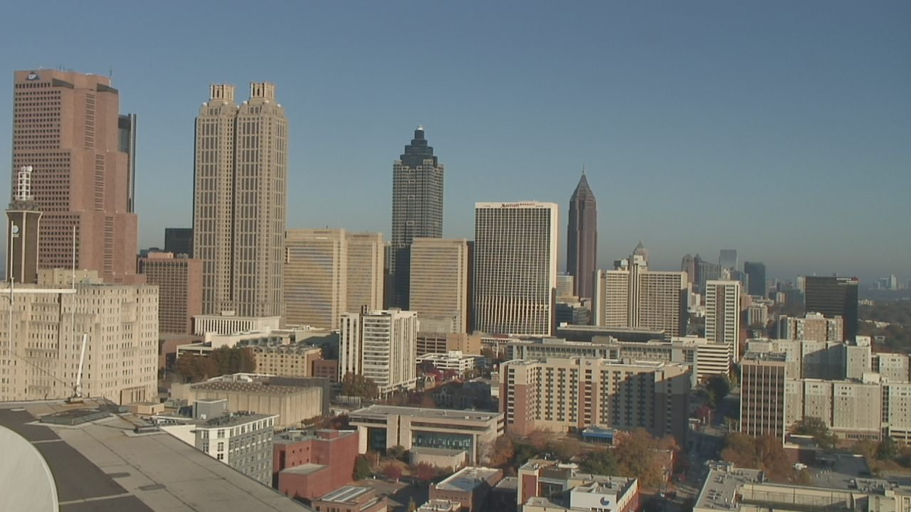 Atlanta skyline. (SOURCE: WGCL)