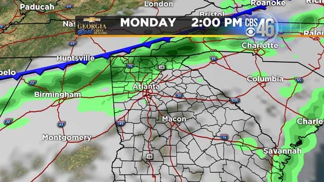 FORECAST: Wet weather system approaching, rain chances increased through mid-week