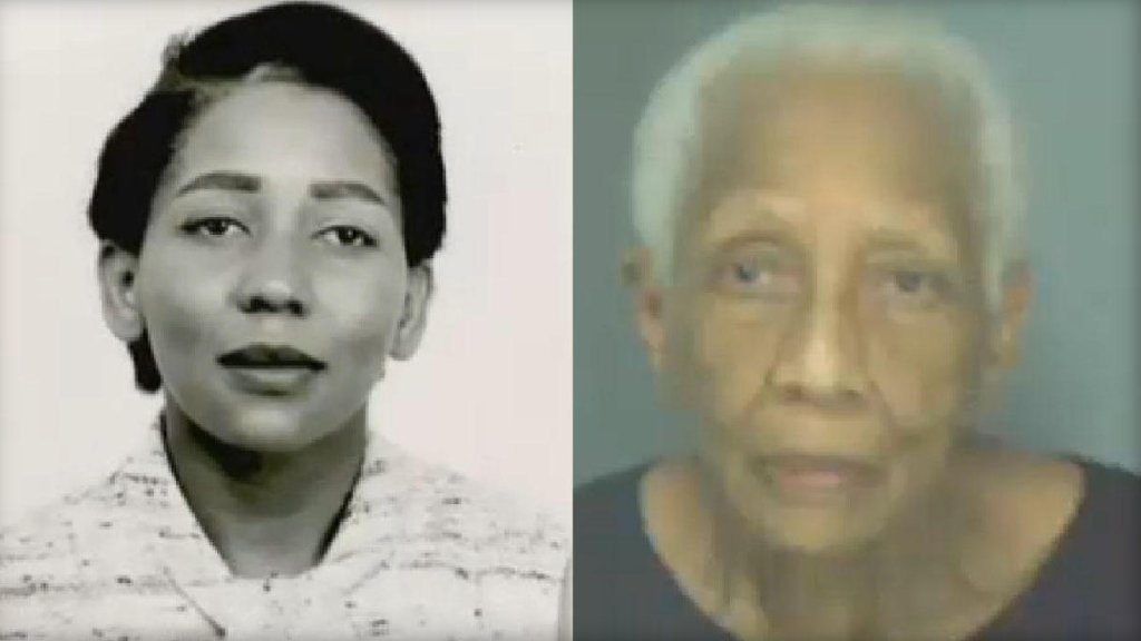 Doris Payne has mugshots that trace her alleged criminal activity back to the 1950s. (SOURCE: CBS News)