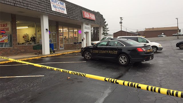 Cobb police investigating fatality at Dixie Gun and Pawn in Mableton