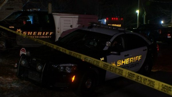 Forsyth County Sheriff's deputies shot a man they said was suicidal after he threatened them with a knife, they said Monday morning, January 9, 2017.  (SOURCE: WGCL)