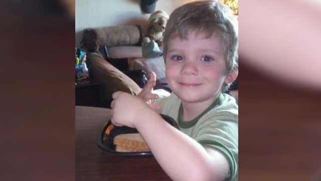 Logan Braatz, 6, was killed after being mauled by a dog as he walked to the bus stop in his neighborhood. Source: Family