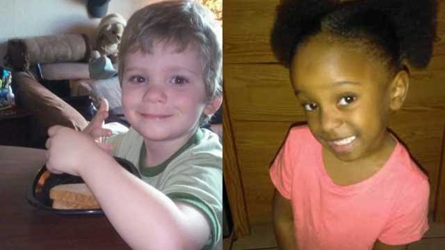 Logan Braatz, 6, was killed and Syrai Sanders, 5, was critically injured after being attacked by dogs as they walked to the school bus stop. Source: Family