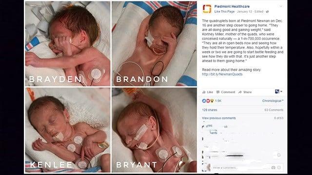Source: Piedmont Healthcare Facebook