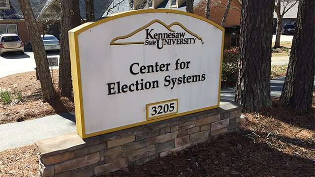 Kennesaw Center for Eleciton Systems. (SOURCE: WGCL)
