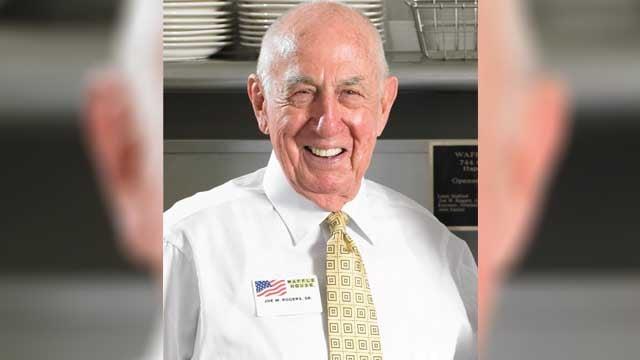 Joseph (Joe) Wilson Rogers, Sr | Source: Waffle House