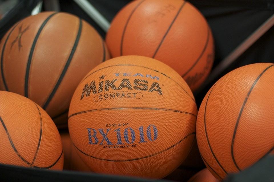 Basketballs. (SOURCE: Wikimedia Commons)