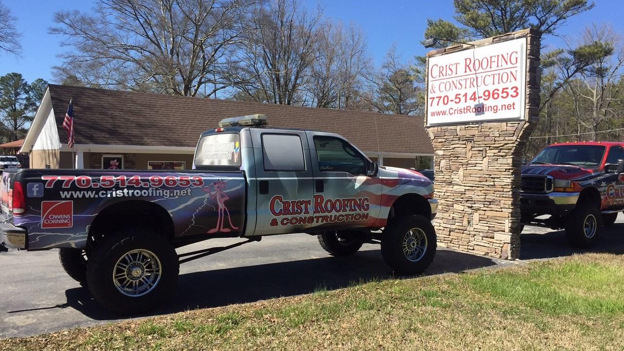 Crist Roofing Company. (SOURCE: Adam Murphy/WGCL)