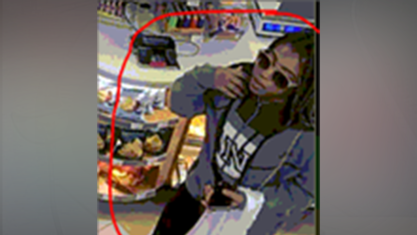 The FBI said they're looking for this woman who is suspected in a credit card theft ring spanning Cobb and Gwinnett Counties. (SOURCE: FBI Atlanta)