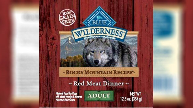 Blue Buffalo recalls dog food