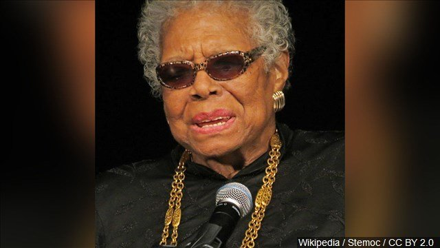 Maya Angelou author and poet who is hailed as one of the great voices of contemporary literature. Source: MGN Online