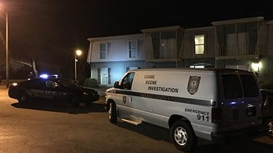 Two people were shot at a home in Decatur, GA. Police said two men forced their way into the apartment. (SOURCE: WGCL)