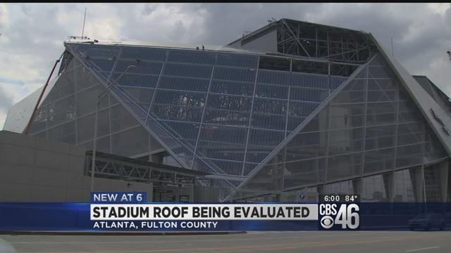 Mercedes Benz Stadium Roof Being Evaluated Could Delay