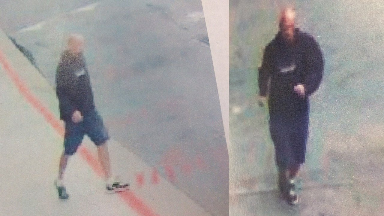 Police released these photos of the man accused of shooting and killing a woman in a busy Midtown Atlanta intersection. (SOURCE: WGCL)