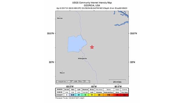 Magnitude Earthquake Reported In Eastern Georgia CBS News - Fault lines in georgia