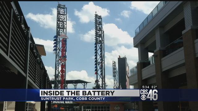 Inside The Battery at SunTrust Park - CBS46 News