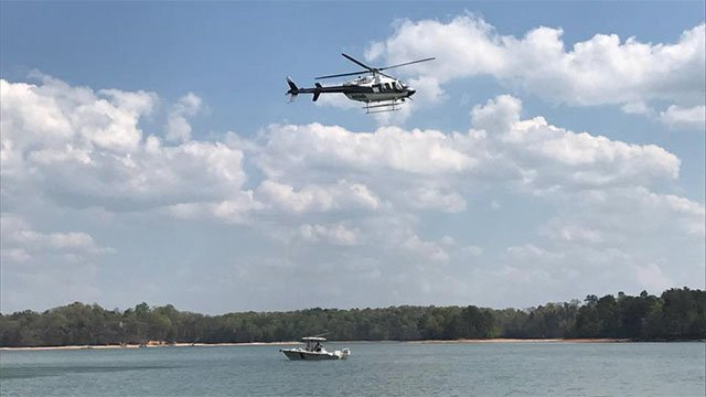 Jet skier missing after collision with boat on Lake Lanier