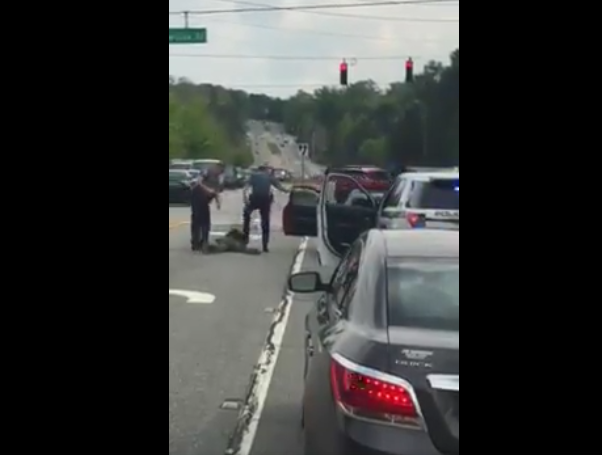 Gwinnett County Officer Caught On Video Stomping Suspect Fired