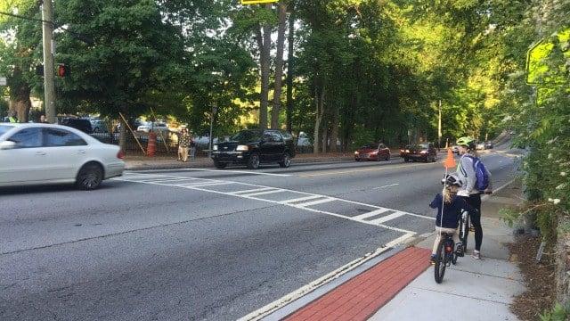Memorial Drive, Atlanta (source: WGCL TV)