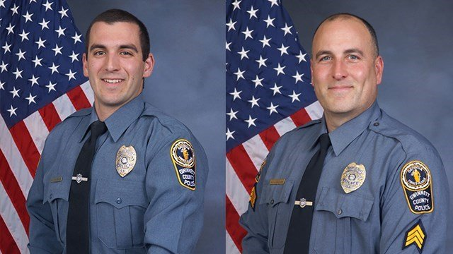 McDonald (left) and Bongiovanni (Source: Gwinnett County police)