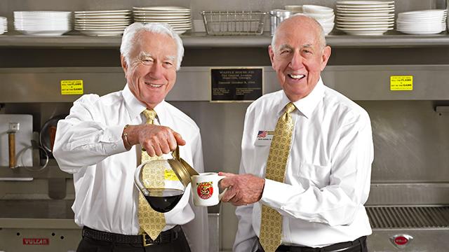 Thomas Forkner, Joe Rogers. (SOURCE: Waffle House)